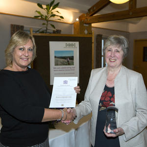 Top award for volunteers