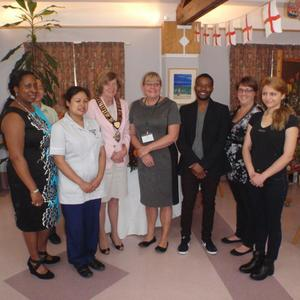 Staff receive recognition