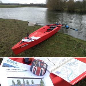 Rowing adventure raises funds for Treehouse Project