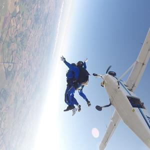 Skydive raises thousands